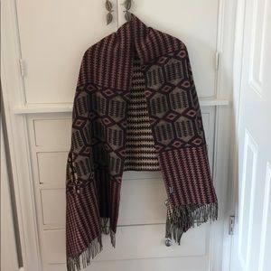 Madewell Cape Scarf - Reversible